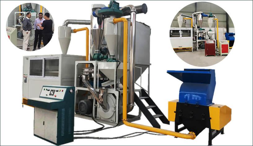 Aluminium-Plastic Dry process Separation System