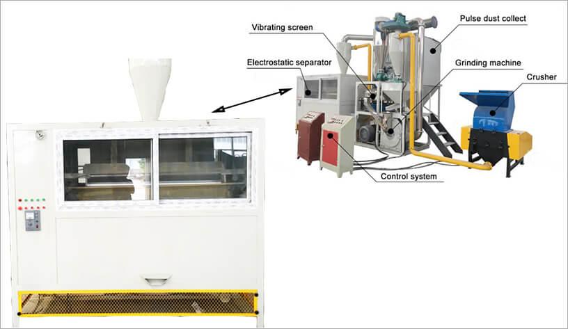 High Voltage Electrostatic Separator