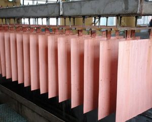 Pure copper cathode sheets