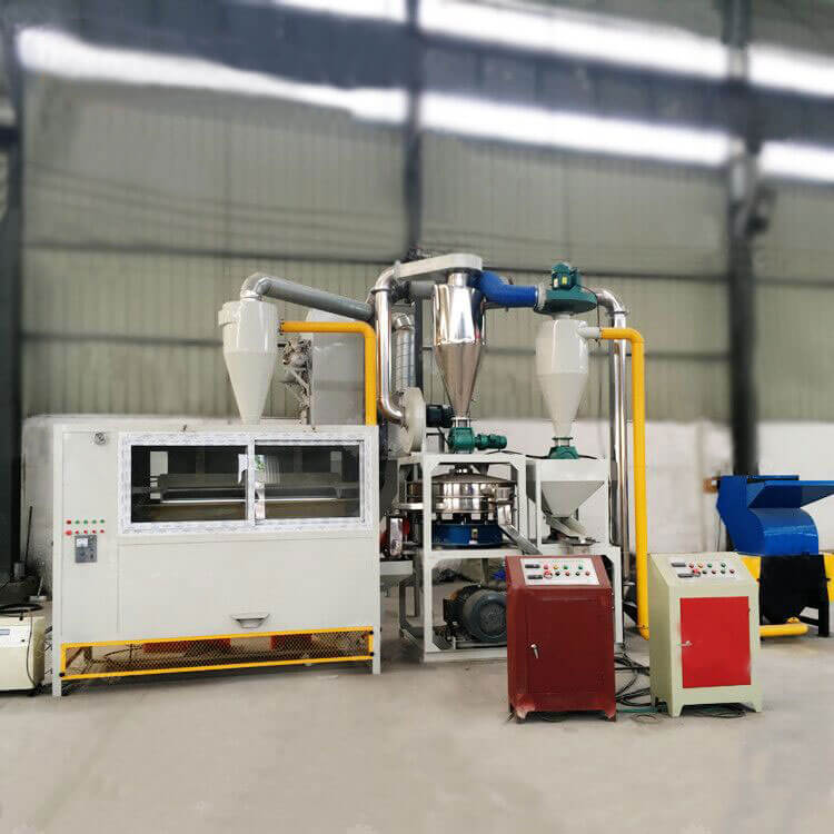 aluminum composite panel (ACP) recycling machine