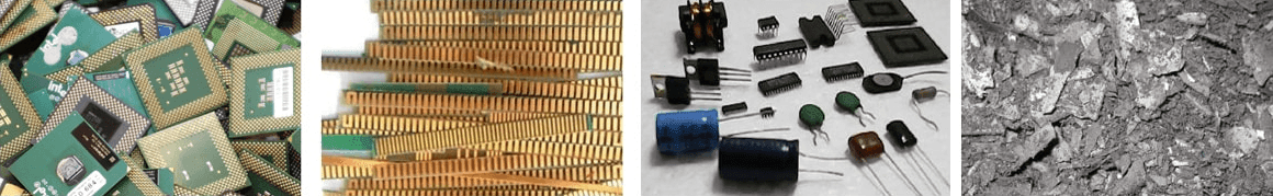 Dismantling Electronic Waste And Removing Gold From Circuit Boards