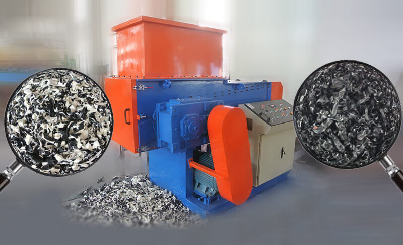 high effciency industrial shredder