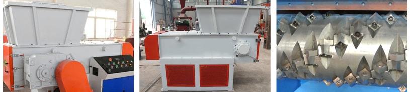 main axis of metal crusher
