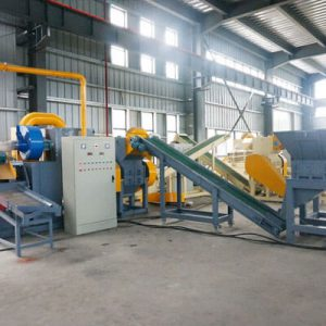 large scale copper wire recycling plant